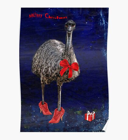 merry christmas from downunder! Poster