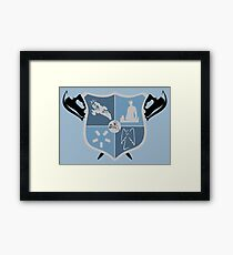Joss Whedon Coat of Arms  Framed Print