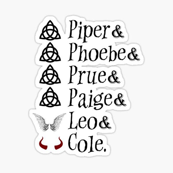 Noms charmés Sticker
