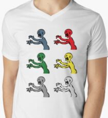 Grr. Argh. Colours  Mens V-Neck T-Shirt