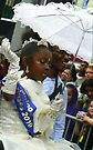 little bw princess at carnival by LisaBeth