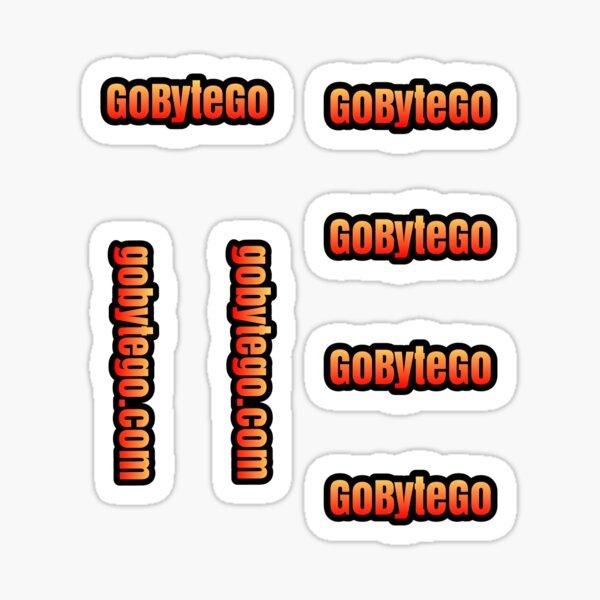 GoByteGo multi sticker Sticker