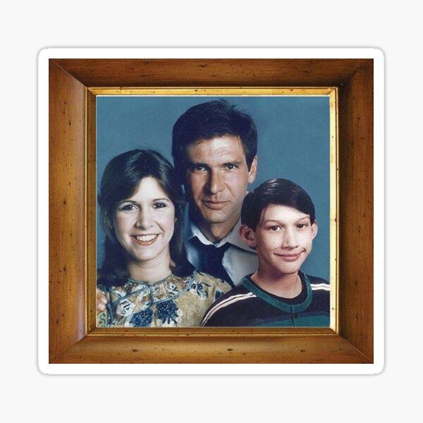 Solo Family Portrait Sticker