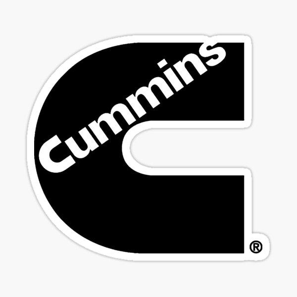 Cummins Truck Logo Noir Sticker