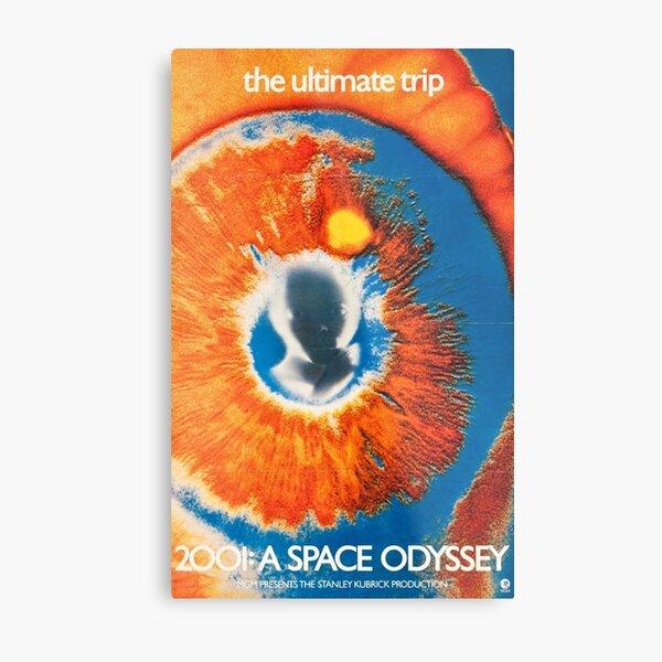 2001 A SPACE ODYSSEY, A Masterpiece by Kubrick  Metal Print