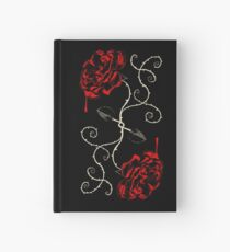 Painting The Roses Red Hardcover Journal