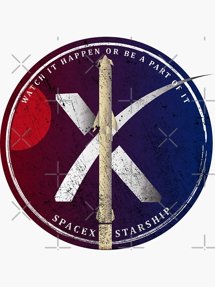 Watch it happen or be a part of if: SpaceX Starship by BGALAXY