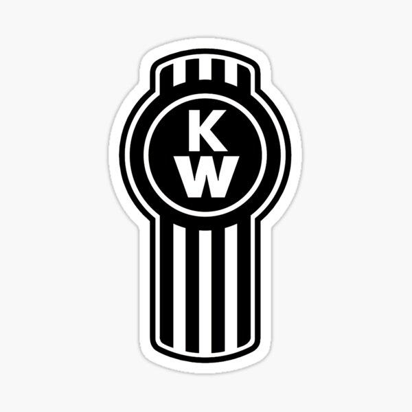 Kenworth Truck logo Noir Sticker