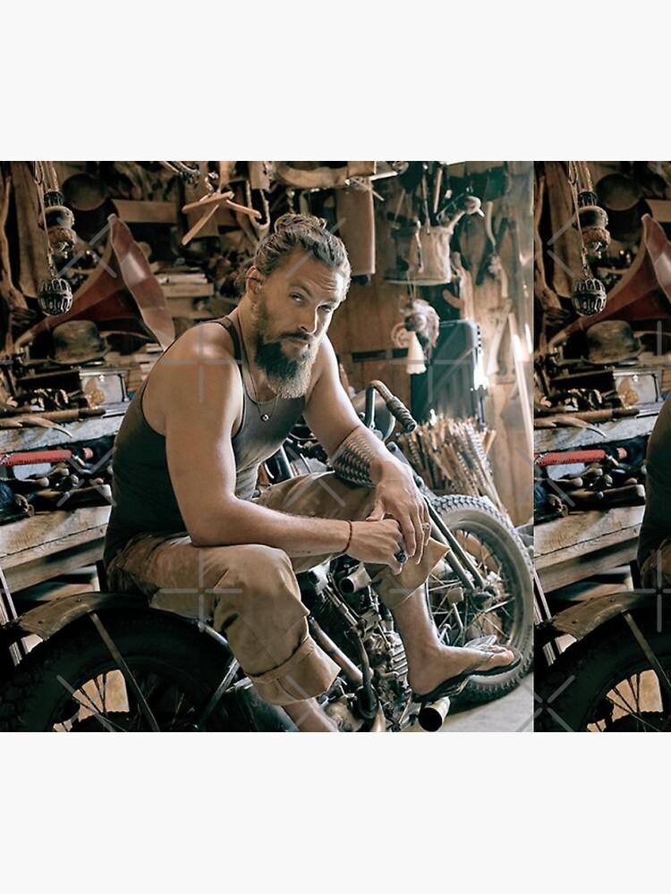 Jason Momoa motocycle by LaurenceS06