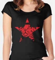 Cadet Kip - Red Star Women's Fitted Scoop T-Shirt