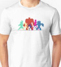 Big Hero 6 Silhouettes  T-Shirt