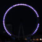 London Eye at Night by Kasia Nowak