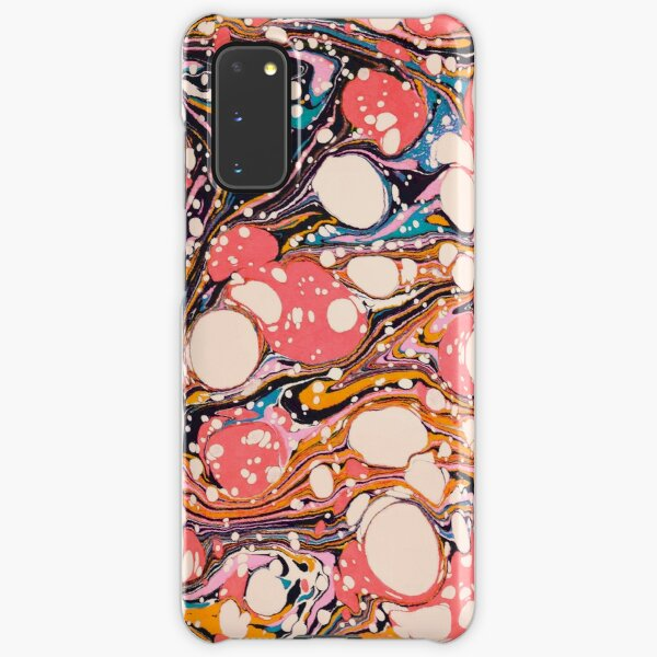 Psychedelic Retro Marbled Paper Pepe Psyche Samsung Galaxy Snap Case