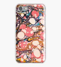 Psychedelic Retro Marbled Paper Pepe Psyche iPhone Case/Skin