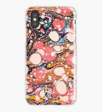 Psychedelic Retro Marbled Paper Pepe Psyche iPhone Case