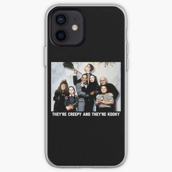 The Addams Family iPhone Soft Case