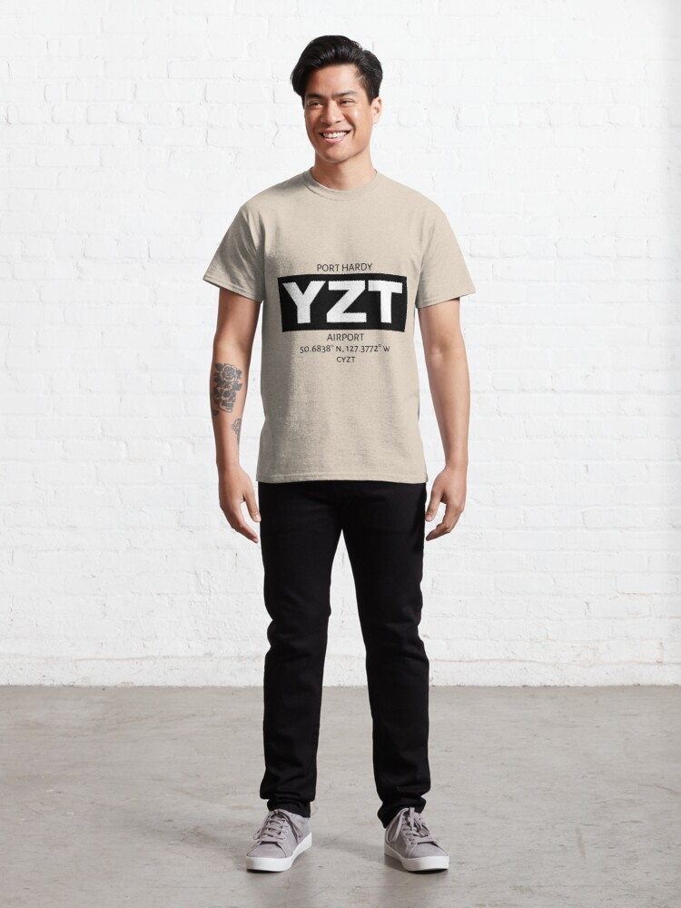 Alternate view of Port Hardy Airport YZT Classic T-Shirt