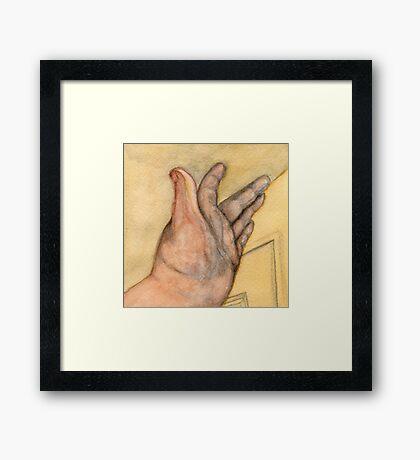 The Left Hand Framed Print