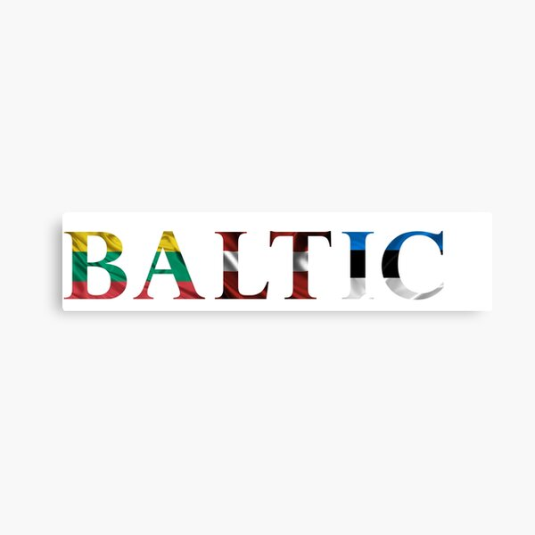 We Are BALTIC Canvas Print