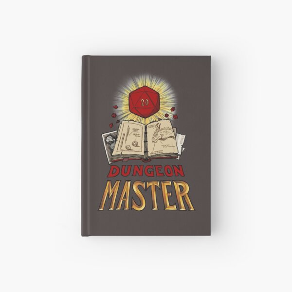 Dungeon Master Hardcover Journal