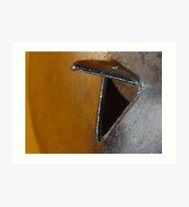 Twick or Tweet? Solved by Judi Rustage ~ Sweetcorn fork ~ Art Print