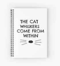 Dan and Phil Cat Whiskers Notebook Spiral Notebook
