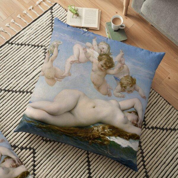 THE BIRTH OF VENUS - ALEXANDRE CABANEL  Floor Pillow