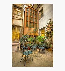 The Courtyard Photographic Print