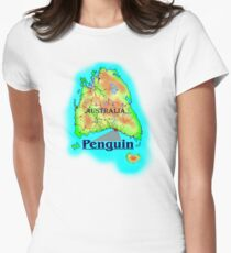 Penguin - Tasmania Women's Fitted T-Shirt