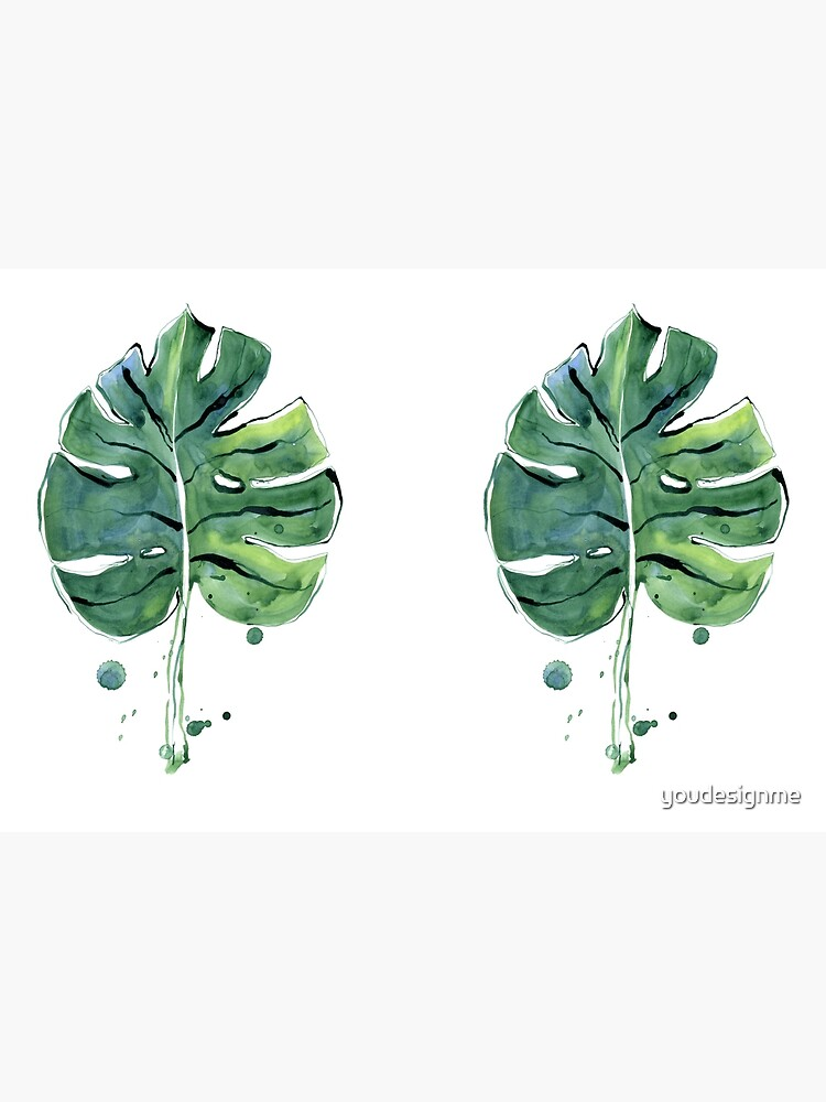 Monstera leaf by youdesignme