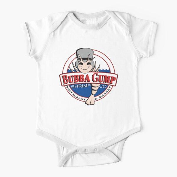 Bubba Gump Short Sleeve Baby One-Piece