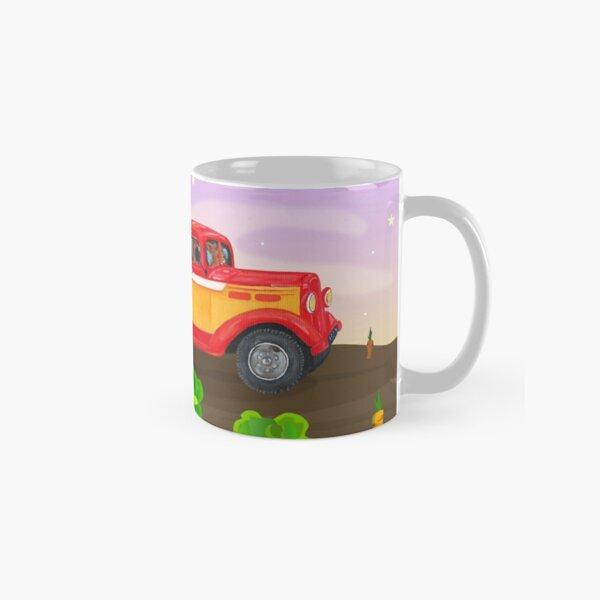 Bunnies Driving a Car Classic Mug