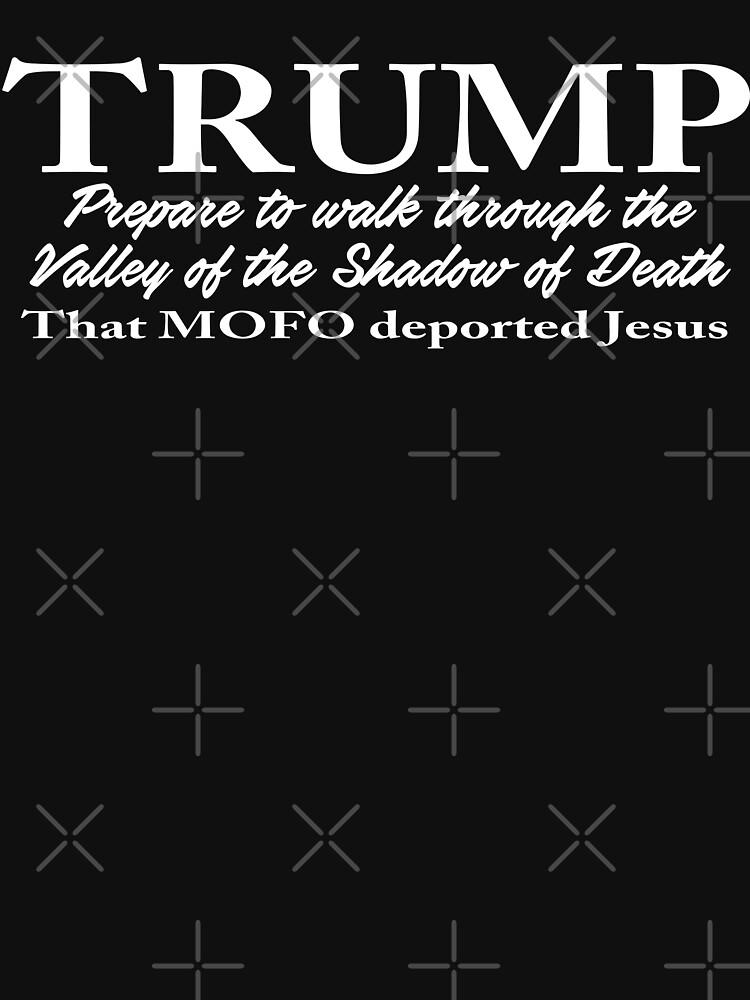Trump - Shadow of Death Design  by Mbranco