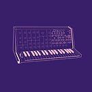 Korg MS20 Synthesizer by Jacqui Fae
