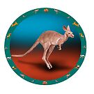 Kangaroo by David Fraser