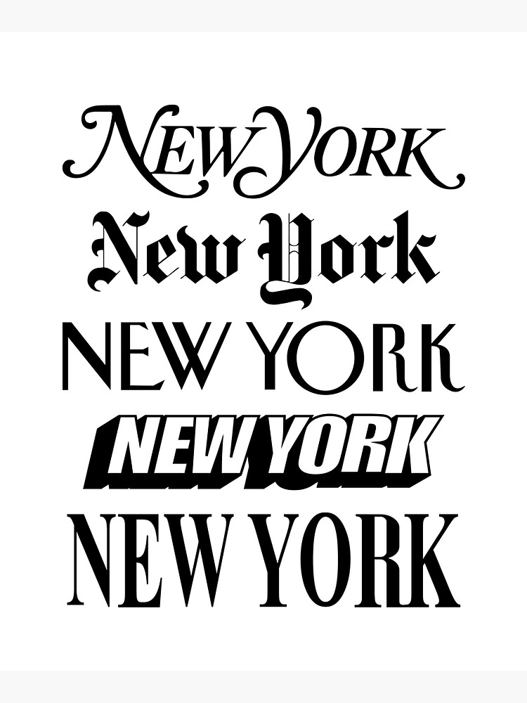 New York New York by MotivatedType