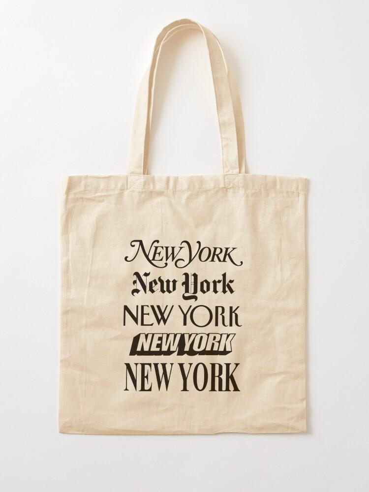 Alternate view of New York New York Tote Bag