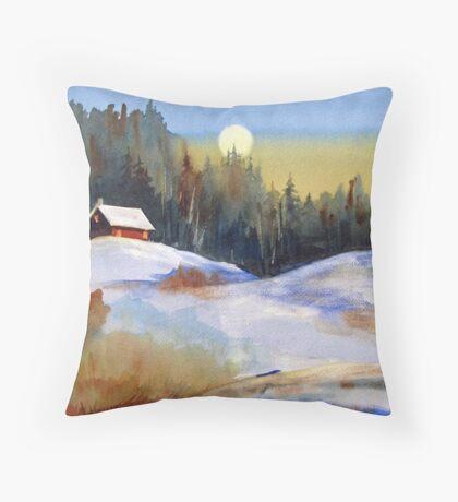 The Magic of Moonlight Throw Pillow