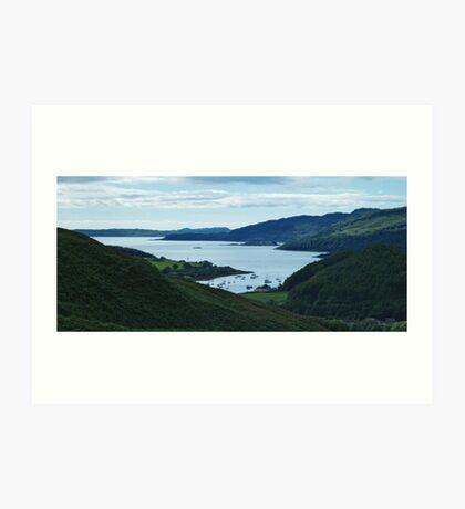 Loch Melfort Art Print