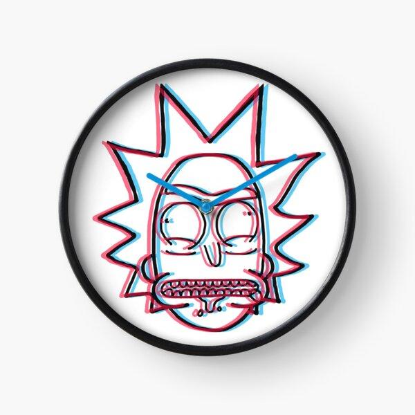 3d Rick Sanchez de Rick and Morty ™ Reloj
