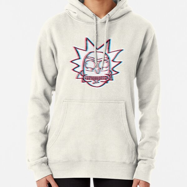 3d Rick Sanchez from Rick and Morty™ Pullover Hoodie