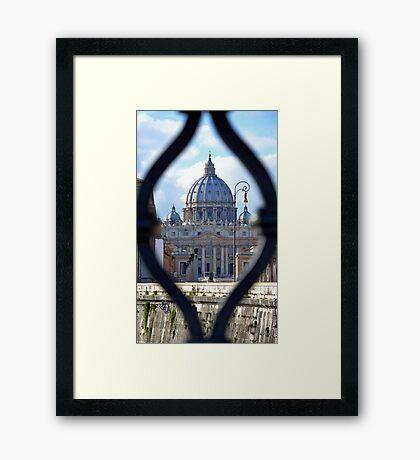Vatican View! Framed Print