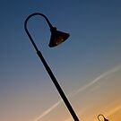 Jetty Lights, Glenelg. by Stuart Robertson Reynolds