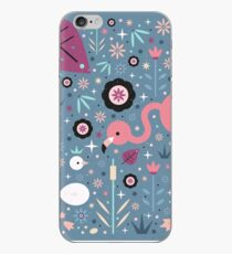 Flamingo & Chick  iPhone Case