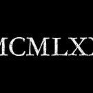 MCMLXX 1970 (Vintage Weiß) Geburtstag von theshirtshops