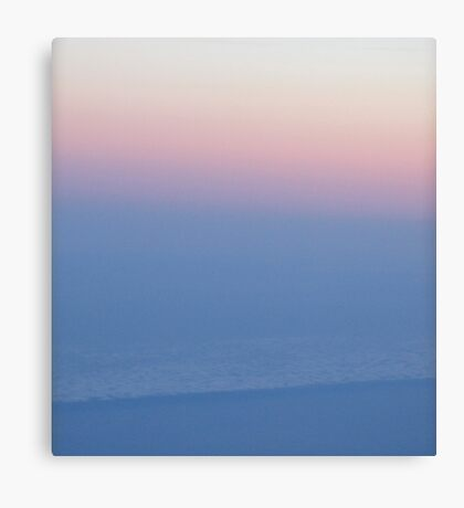longhaul sunset Canvas Print