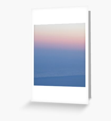 longhaul sunset Greeting Card