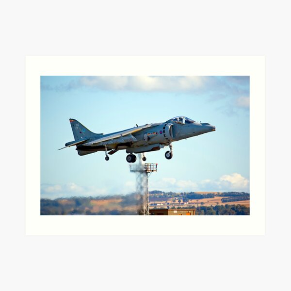 Harrier Jump Jet Art Print