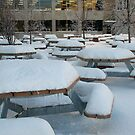 Student's School Area in December by Carole Brunet