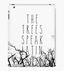 Die Bäume sprechen Latein iPad-Hülle & Klebefolie